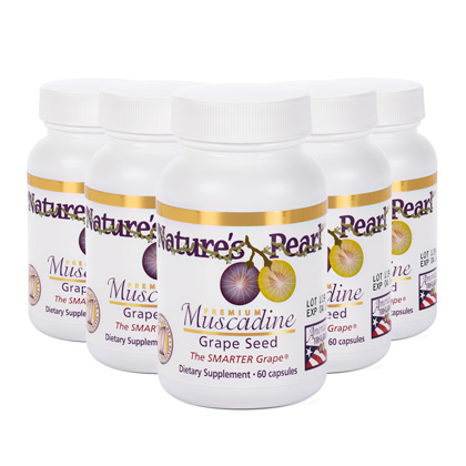 Nature S Pearl Premium Muscadine